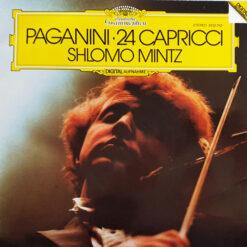 Paganini - Shlomo Mintz - 1982 - 24 Capricci Per Violino Solo Op.1