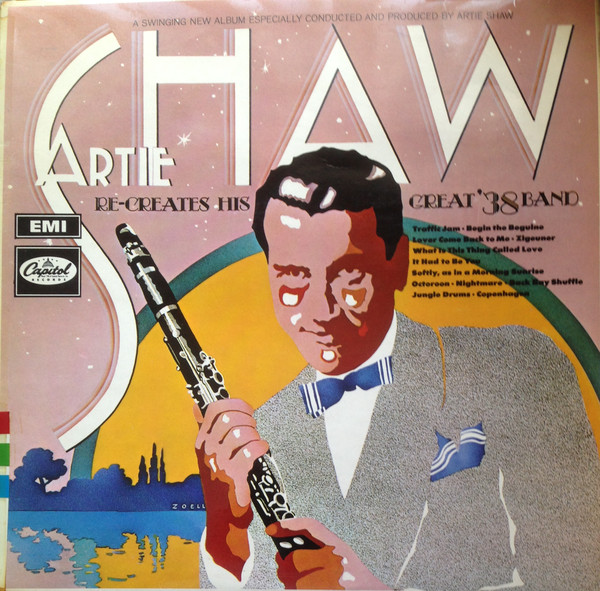 Artie Shaw - 1968 - Re-creates His Great '38 Band