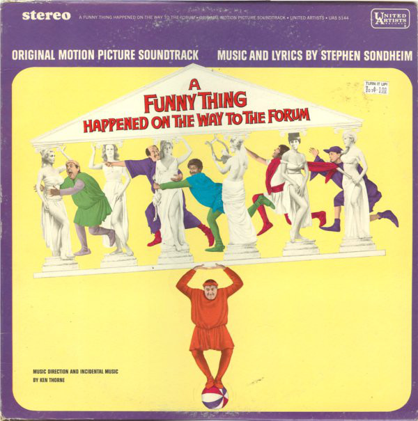 Stephen Sondheim - 1966 - A Funny Thing Happened On The Way To The Forum (Original Motion Picture Soundtrack)