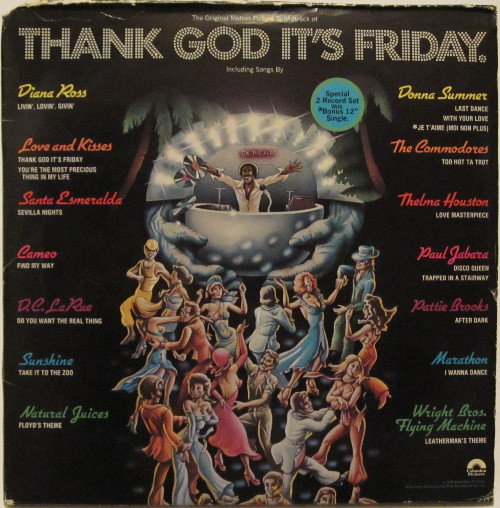 Various - 1978 - Thank God It's Friday (The Original Motion Picture Soundtrack)